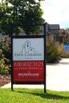 Custom Real Estate Signage & Logo Development