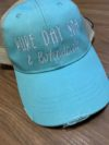 Embroidered Hat – Pure Day Spa